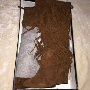 Fringe Style Boots